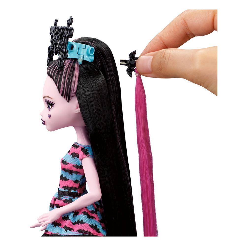 Какую причёску сделать кукле монстр хай