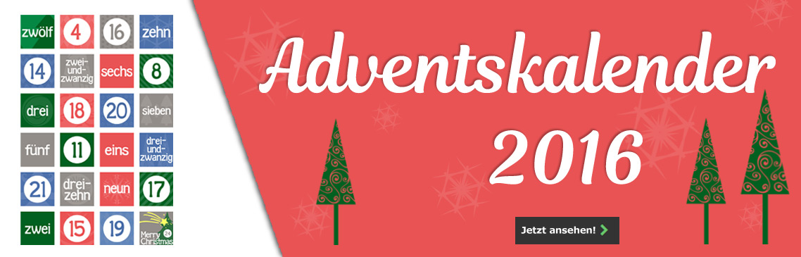Unser Adventskalender 2016