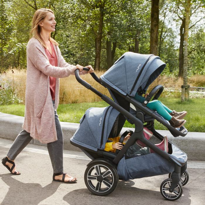 nuna demi grow Zwillingswagen Modus: Zwillinge | online kaufen bei KidsComfort.eu