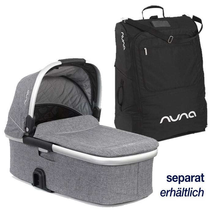 Weiteres Zubehör wie Tragewanne und Transporttasche sind separat erhältlich