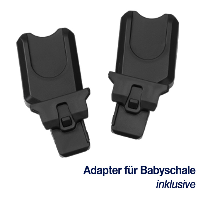 nuna MIXX - Babyschalen Adapter im Lieferumfang enthalten