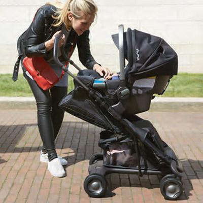 nuna Pepp luxx als Travel-System - Babyschale und Adapter sind separat erhältlich