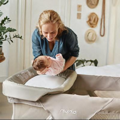 nuna SENA Wickelauflage passend für Reisebett SENA und SENA aire | online kaufen bei KidsComfort.eu