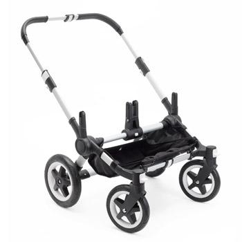 Bugaboo Donkey2 Twin Zwillingskinderwagen | Gestell mit Rädern | Bugaboo OnlineShop KidsComfort.eu