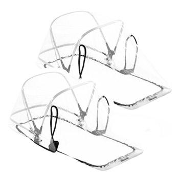 Bugaboo Donkey2 Twin Zwillingskinderwagen | Zwei Regenabdeckungen | Bugaboo OnlineShop KidsComfort.eu