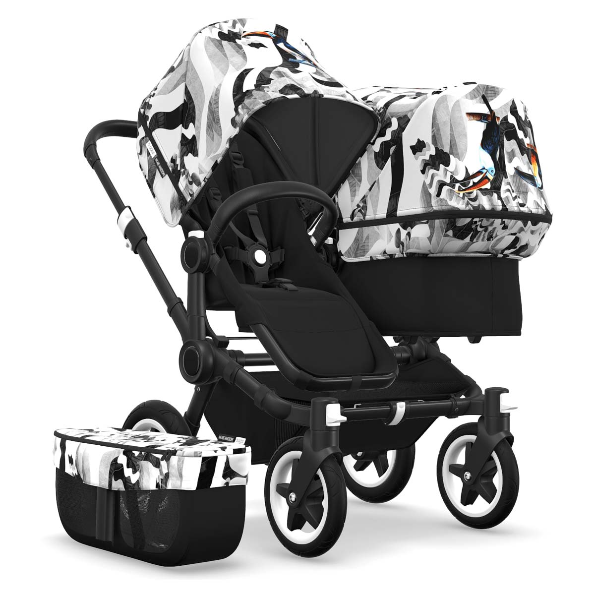 Bugaboo Donkey2 Duo | We are handsome | Tukan