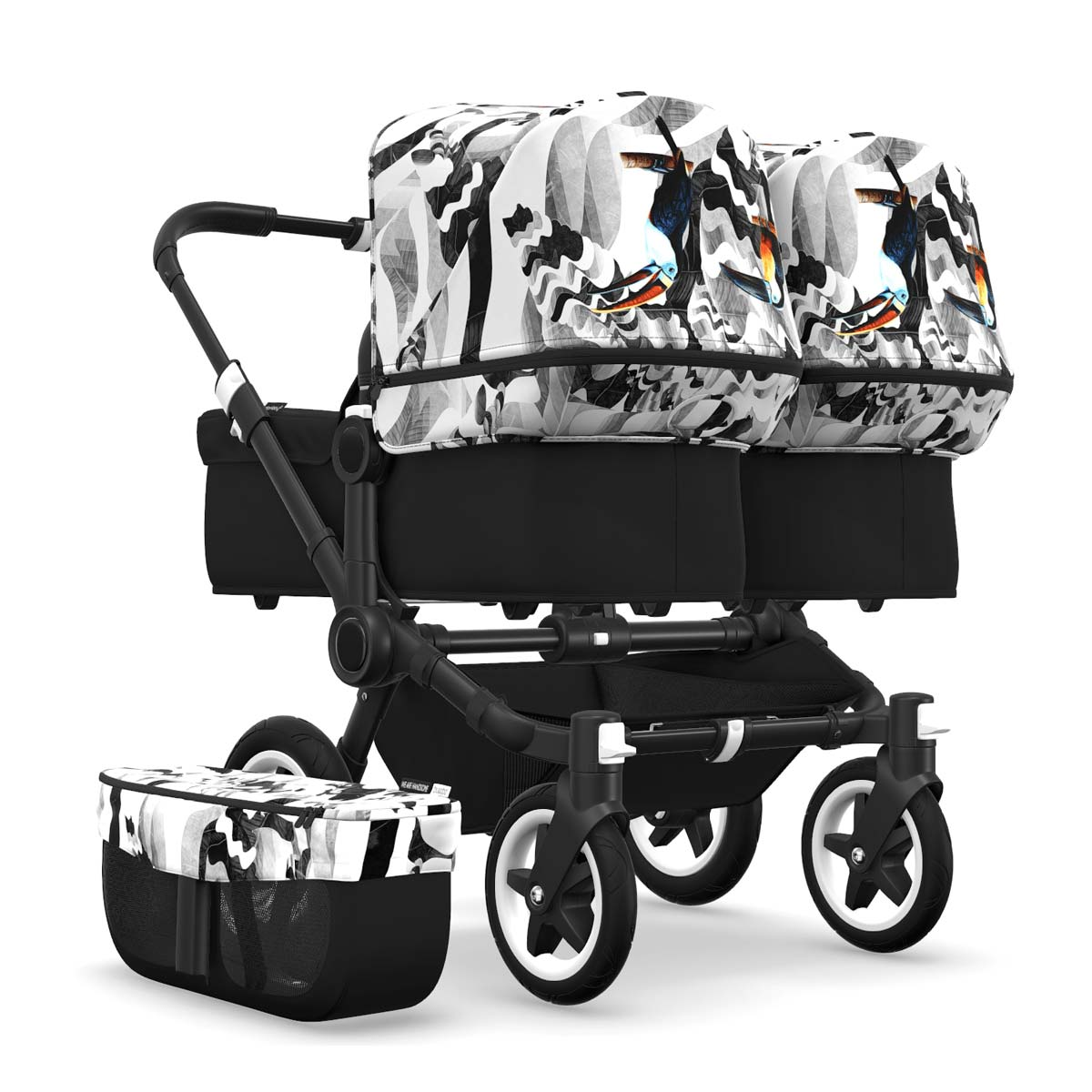 Bugaboo Donkey2 Twin | We are handsome | Tukan