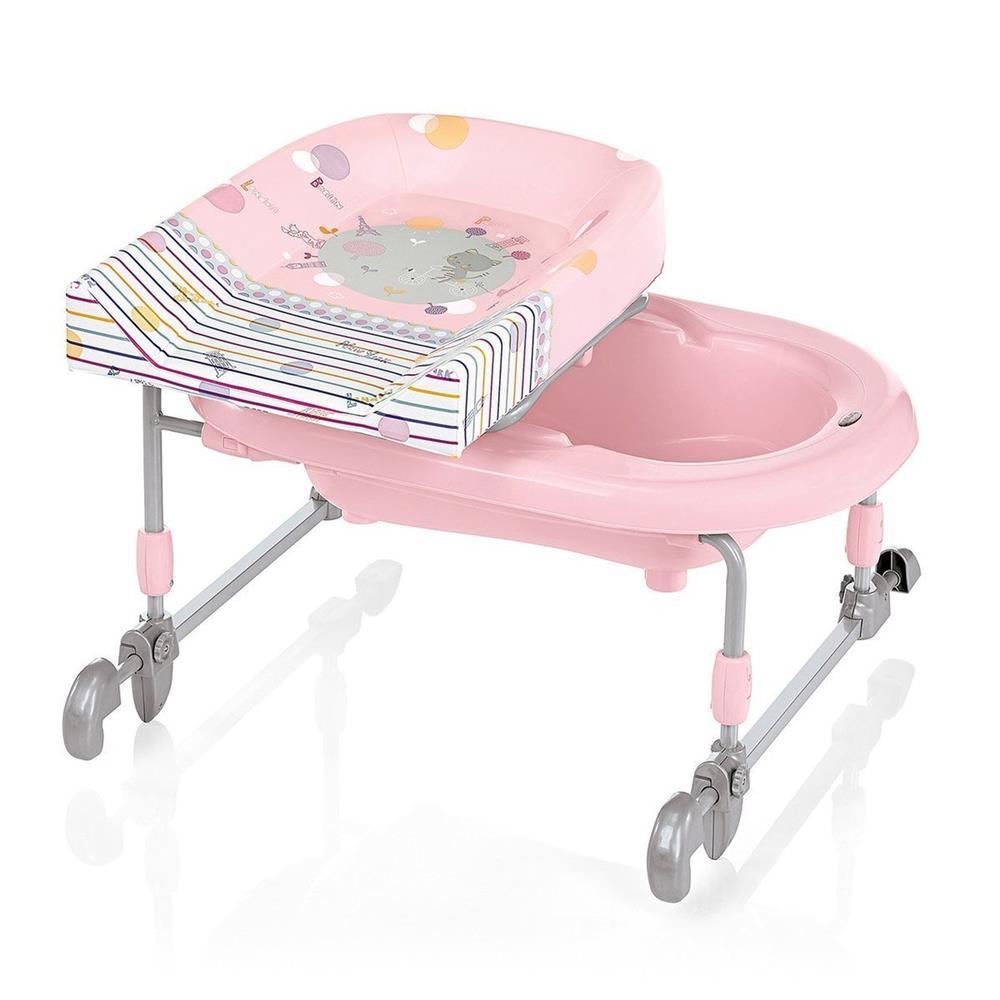 brevi bagnotime changing table combination 054 pink. Black Bedroom Furniture Sets. Home Design Ideas