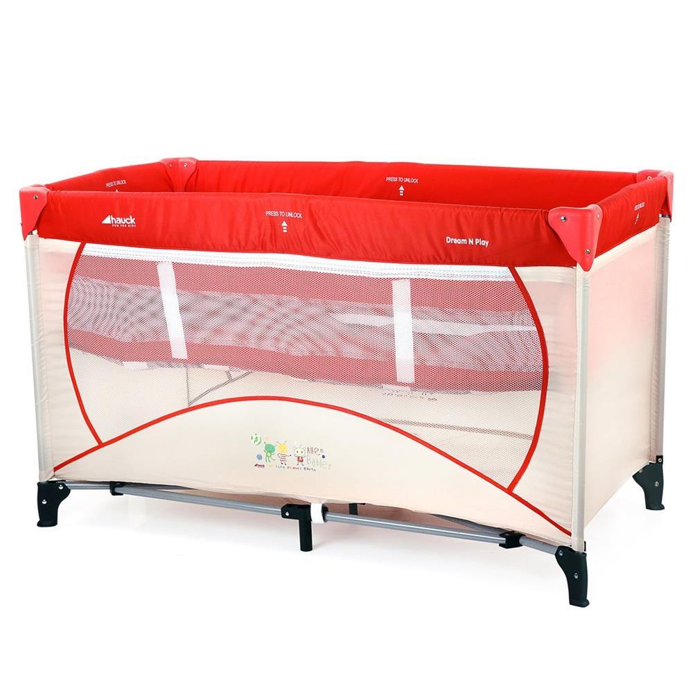 hauck dreamn play travel cot alien baby. Black Bedroom Furniture Sets. Home Design Ideas
