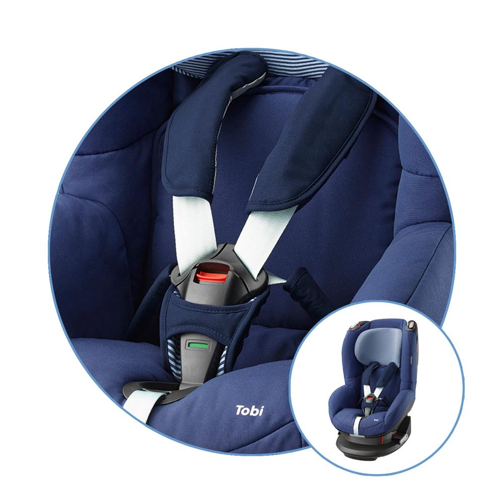 maxi cosi spare cover for car seat tobi design 2016 river blue. Black Bedroom Furniture Sets. Home Design Ideas