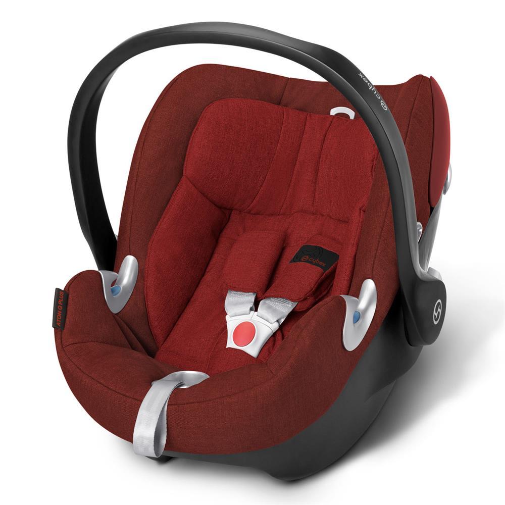 cybex aton q plus babyschale 2016 mars red. Black Bedroom Furniture Sets. Home Design Ideas