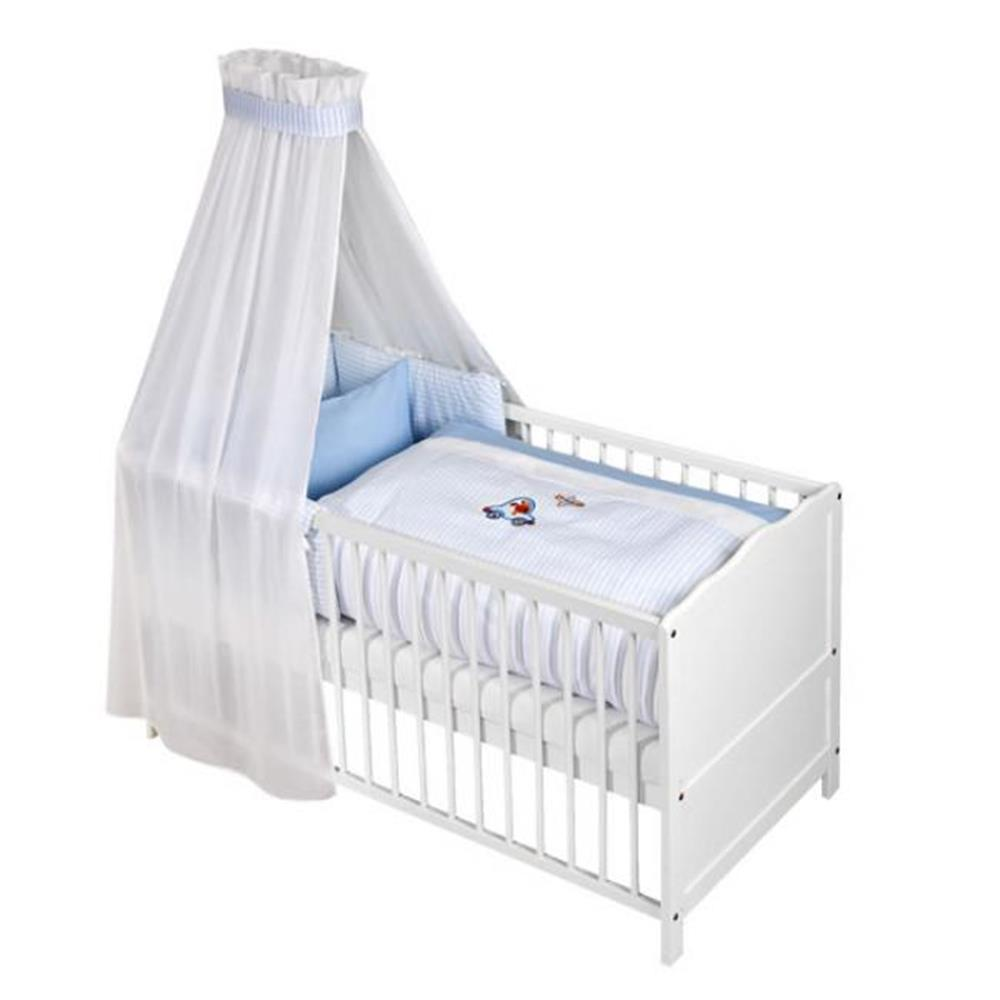 z llner babybett set voile set mit applikation in verschiedenen designs. Black Bedroom Furniture Sets. Home Design Ideas