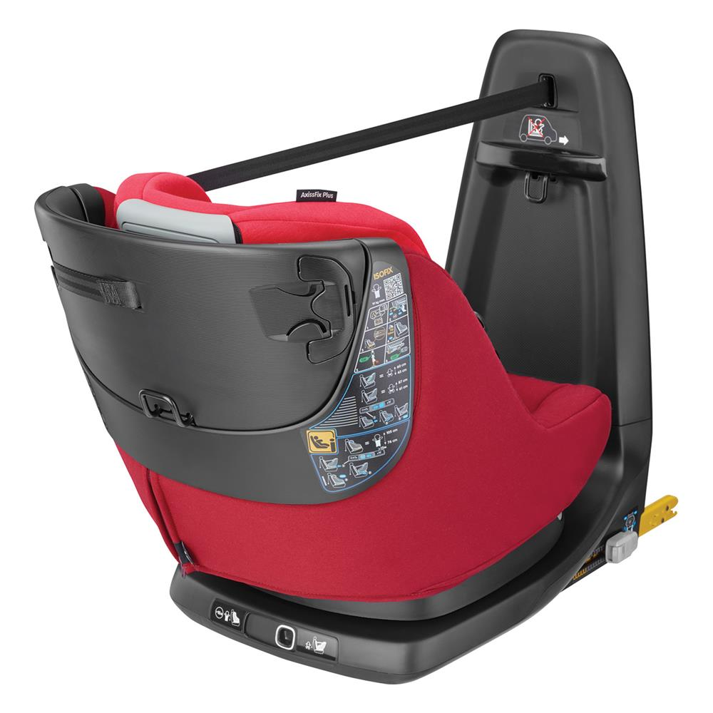 maxi cosi axissfix car seat 2018 vivid red. Black Bedroom Furniture Sets. Home Design Ideas