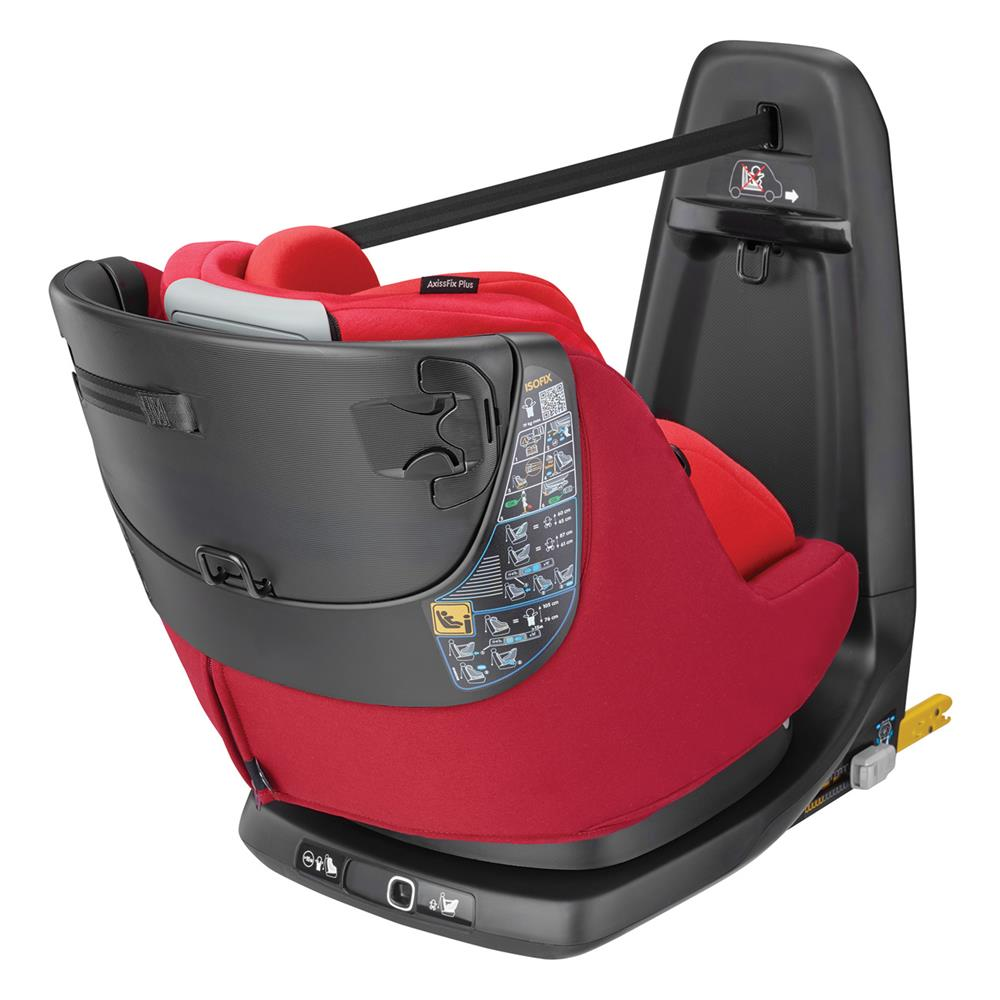 maxi cosi axissfix plus car seat 2018 vivid red. Black Bedroom Furniture Sets. Home Design Ideas