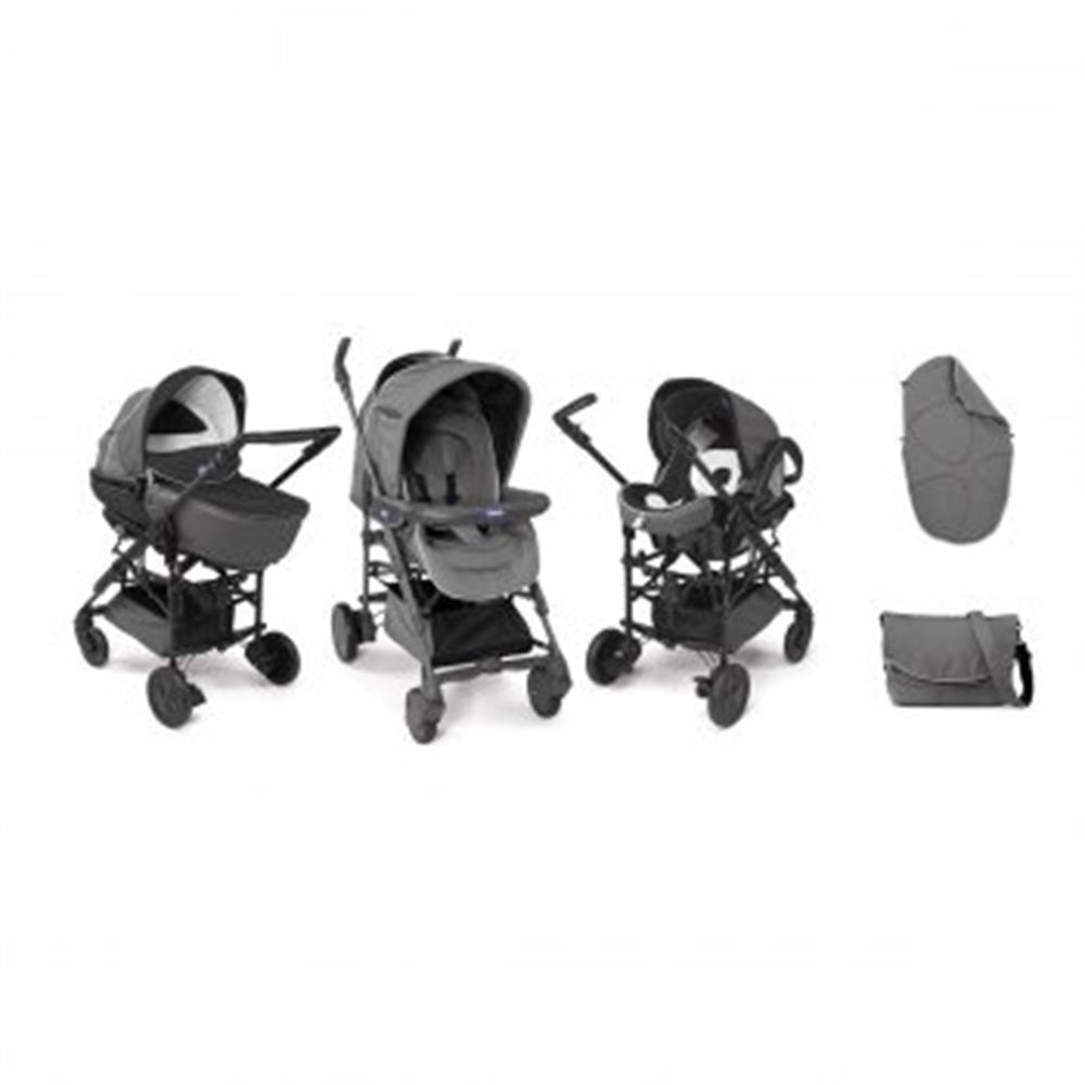 chicco 2in1 stoller travel system trio system living smart. Black Bedroom Furniture Sets. Home Design Ideas