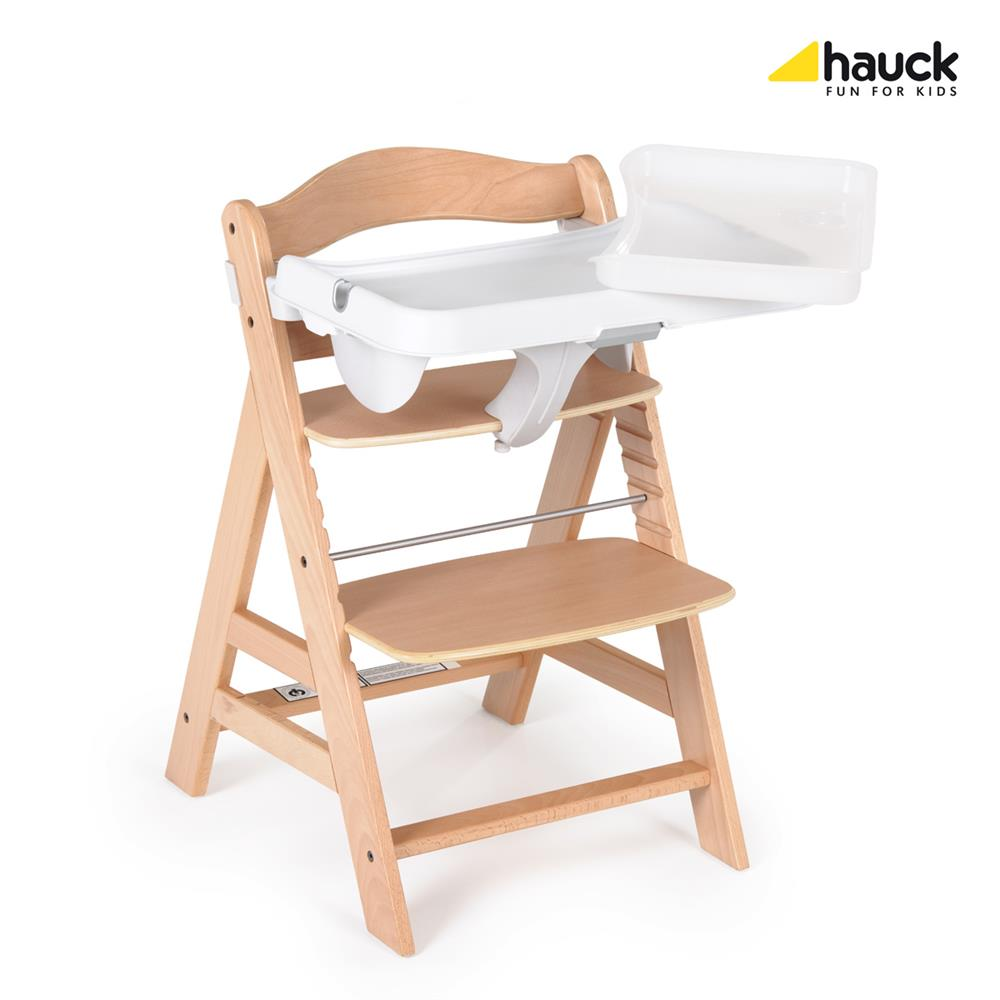 hauck alpha tray alpha hochstuhl bei. Black Bedroom Furniture Sets. Home Design Ideas