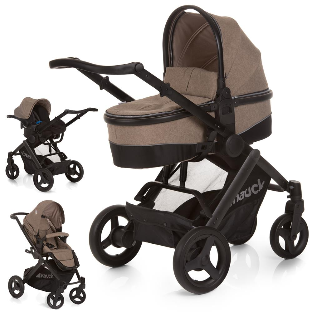 maxan 4 plus trio set hauck kinderwagen set 2017. Black Bedroom Furniture Sets. Home Design Ideas