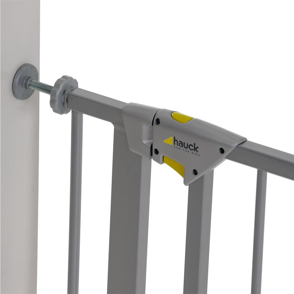 hauck trigger lock safety gate schutzgitter zum klemmen 75 81 cm. Black Bedroom Furniture Sets. Home Design Ideas