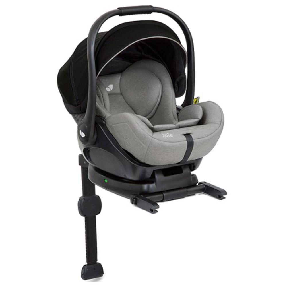 joie i level babyschale mit liegefunktion gray flannel. Black Bedroom Furniture Sets. Home Design Ideas