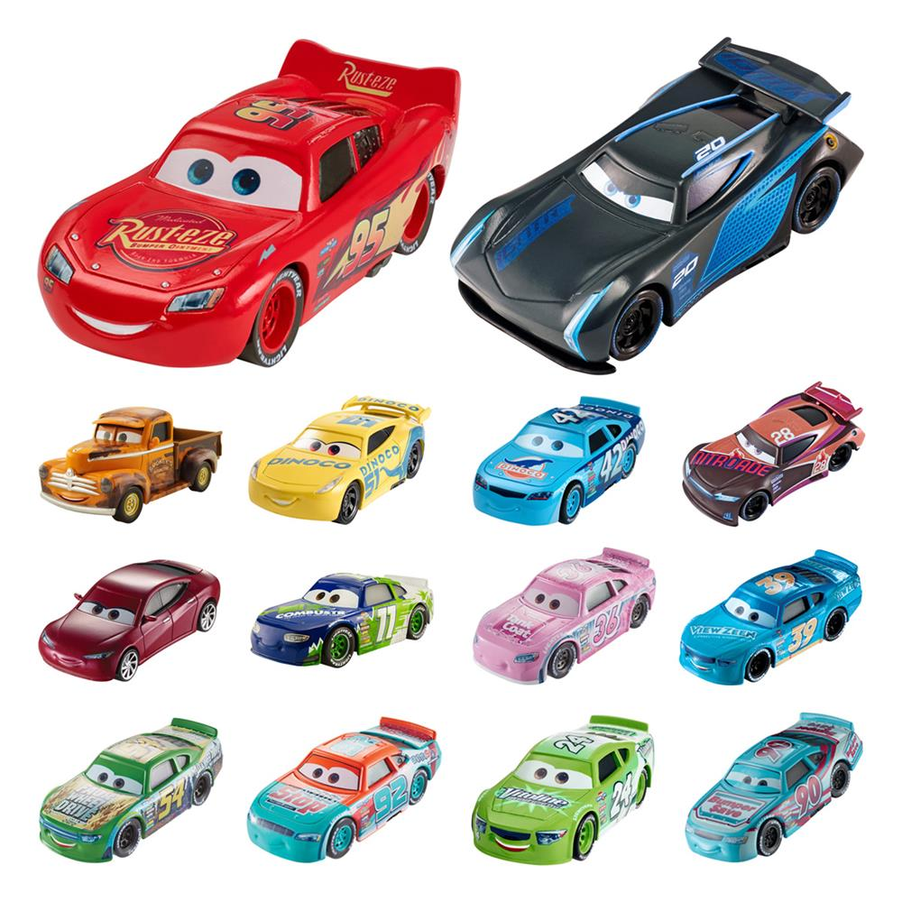 mattel disney cars 3 diecast vehicles dxv29. Black Bedroom Furniture Sets. Home Design Ideas