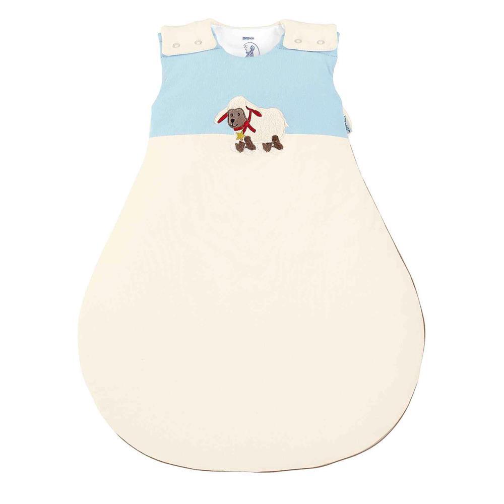 sterntaler baby schlafsack baumwolle schaf stanley 62 68 cm. Black Bedroom Furniture Sets. Home Design Ideas