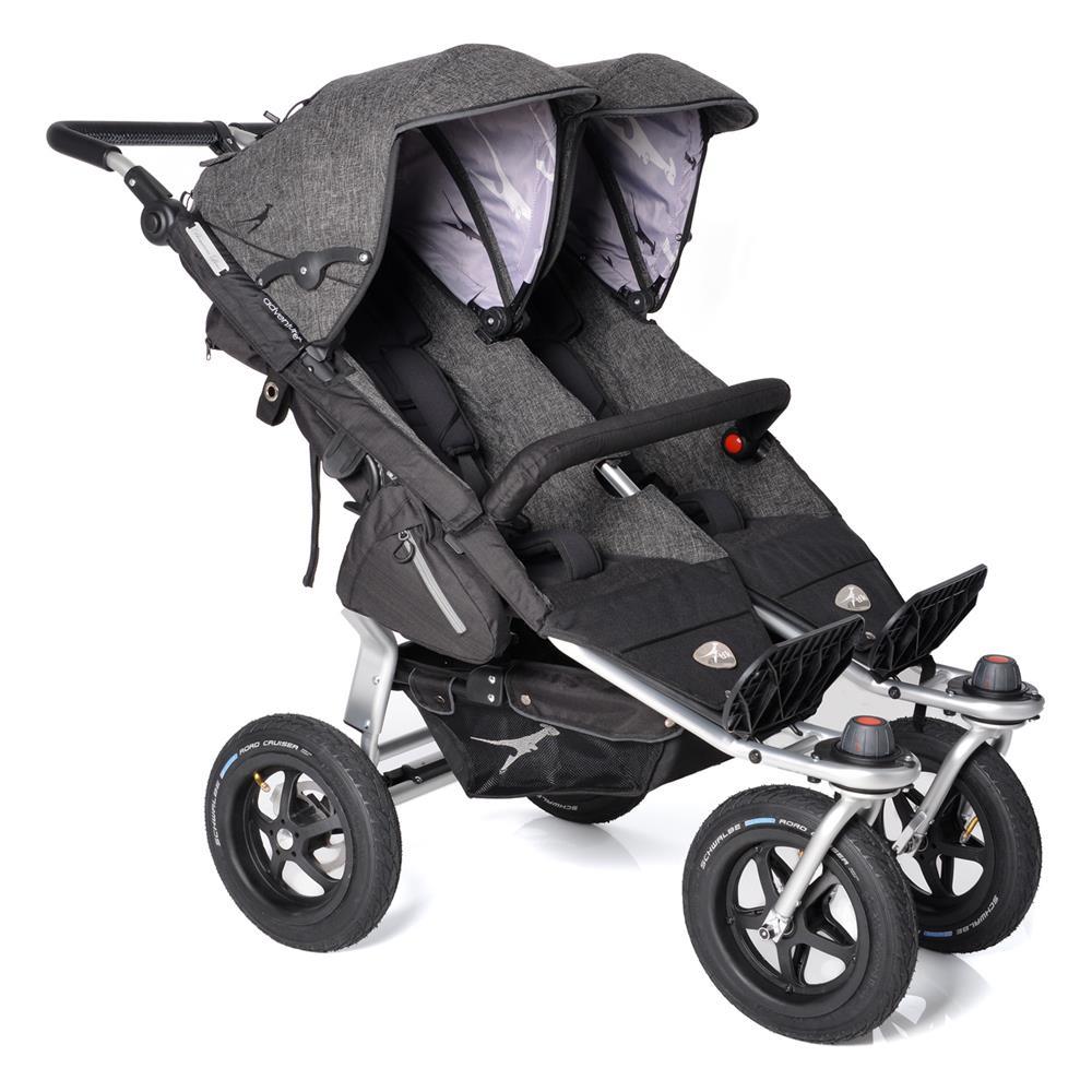 Kinderwagen zwillinge maxi cosi  TFK Twin Adventure Premium Zwillingswagen | KidsComfort.eu