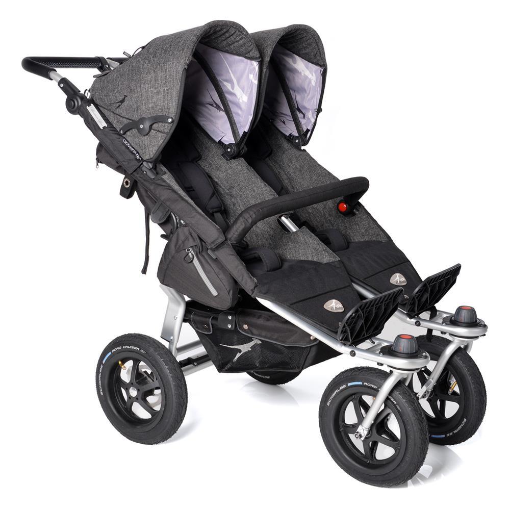 Zwillingskinderwagen maxi cosi  TFK Twin Adventure Premium Zwillingswagen | KidsComfort.eu