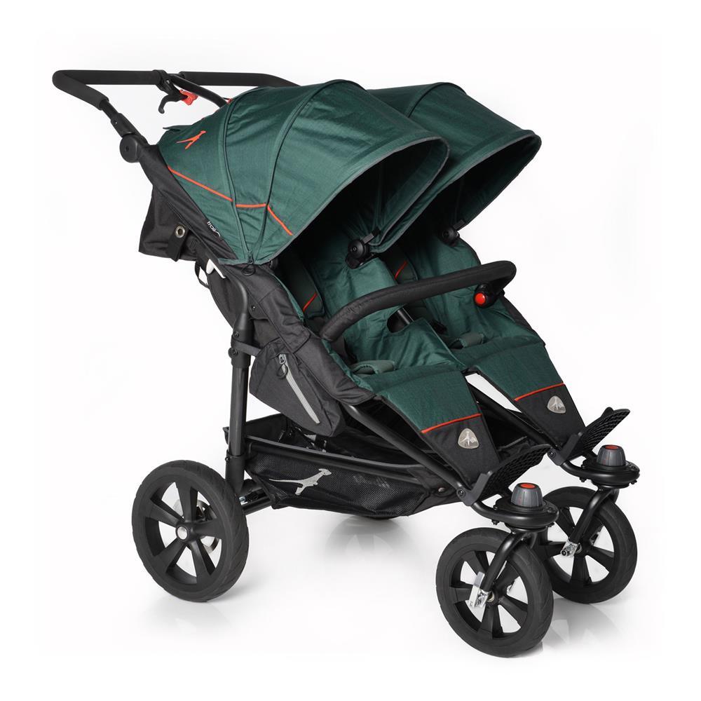 Kinderwagen zwillinge maxi cosi  TFK Twin Trail Zwillingskinderwagen   KidsComfort.eu