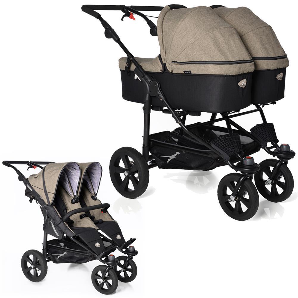 Zwillingskinderwagen abc  TFK Twin Trail Zwillingskinderwagen | KidsComfort.eu