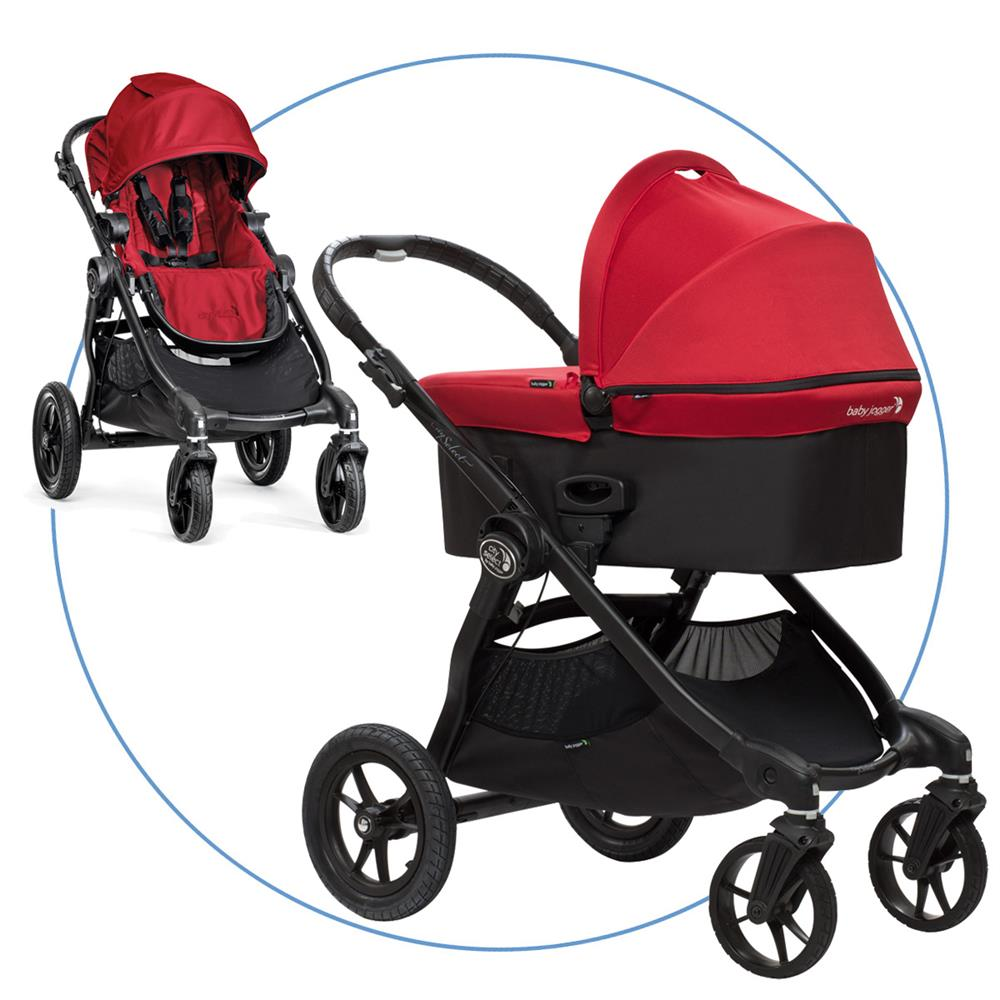 baby jogger city select kombikinderwagen red, Hause ideen