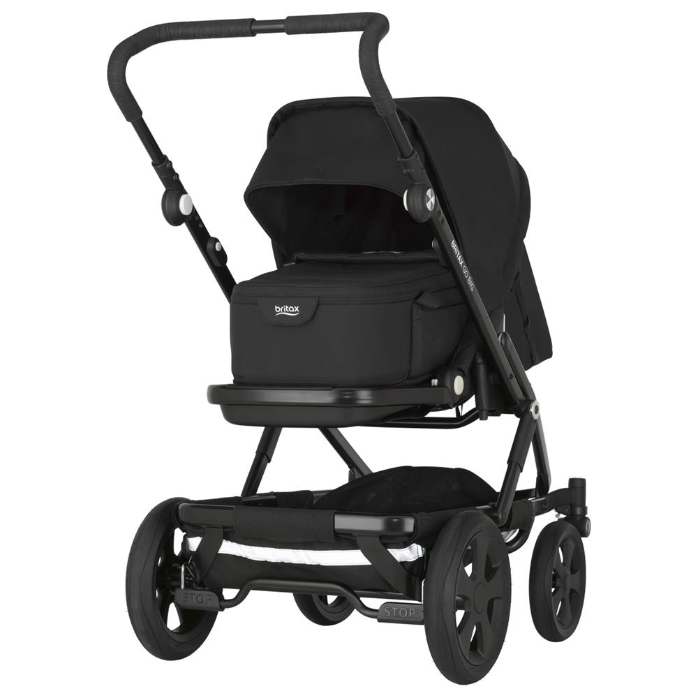 britax go big 2 kinderwagen mit softtasche cosmos black. Black Bedroom Furniture Sets. Home Design Ideas