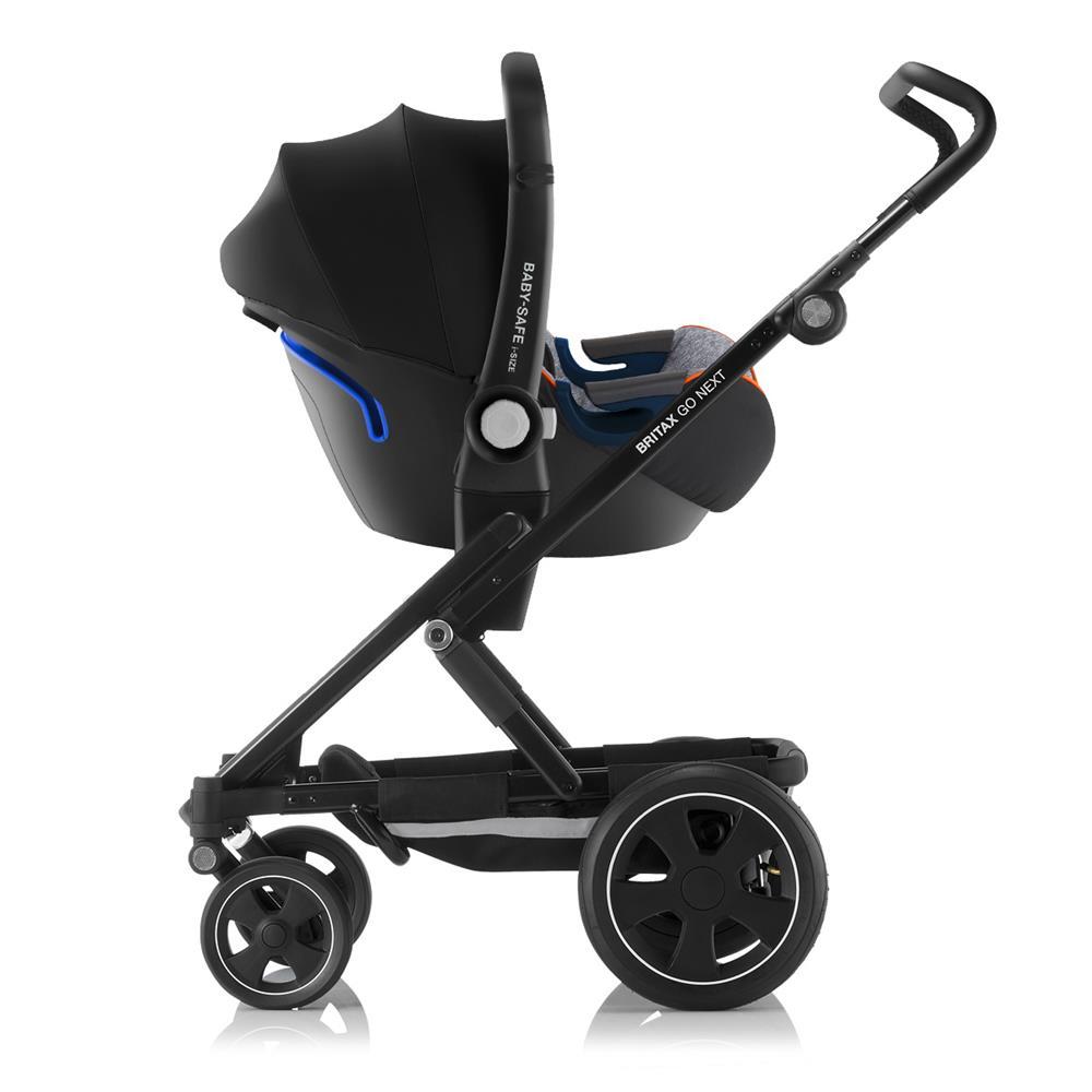britax go next2 2019 gratis babyschale greymelange black. Black Bedroom Furniture Sets. Home Design Ideas