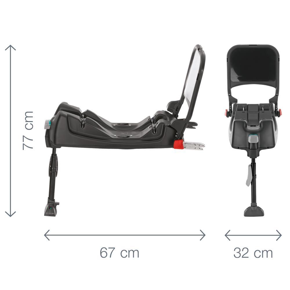 britax r mer isofix base for baby safe plus baby safe plus shr. Black Bedroom Furniture Sets. Home Design Ideas