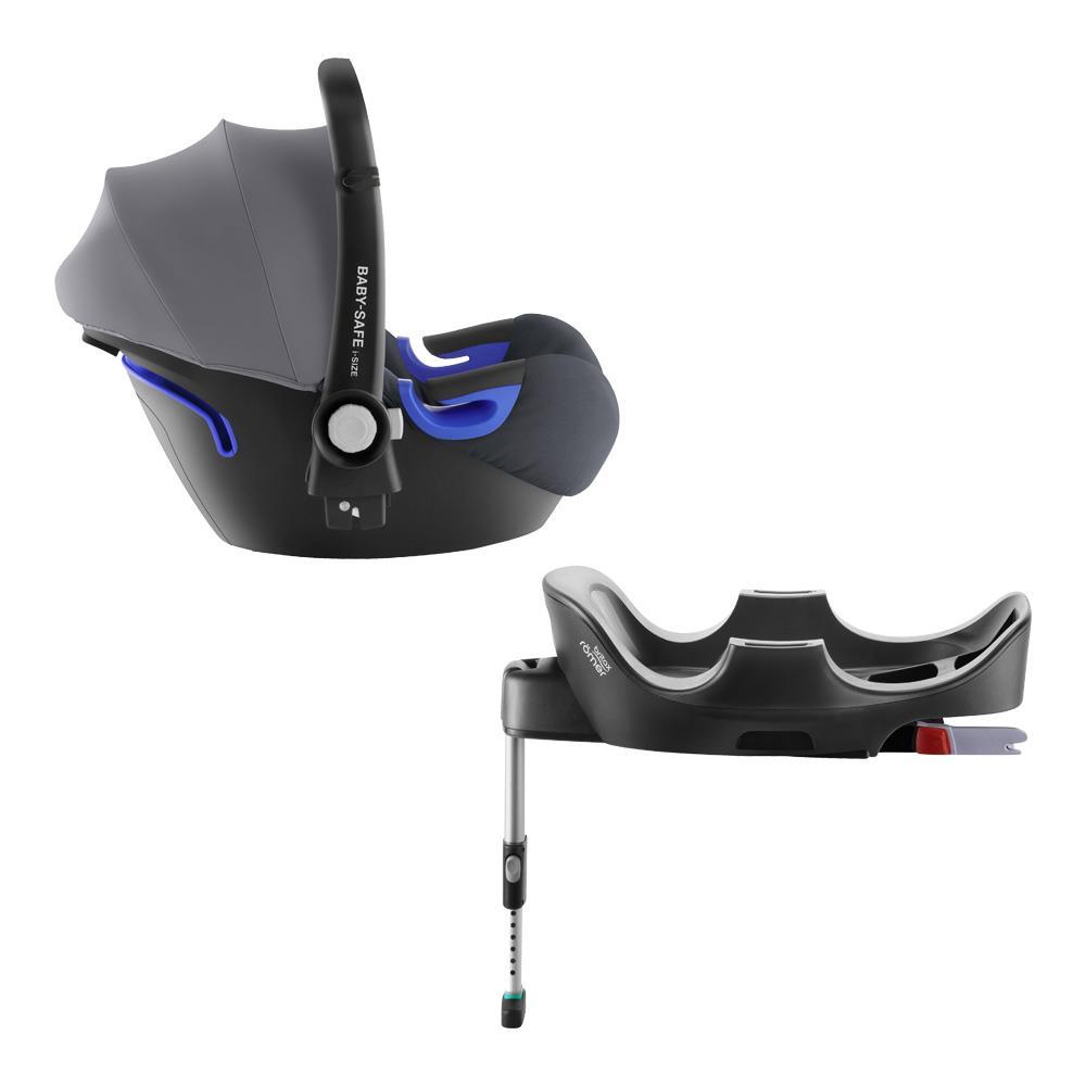 britax r mer infant carrier baby safe i size bundle storm grey. Black Bedroom Furniture Sets. Home Design Ideas