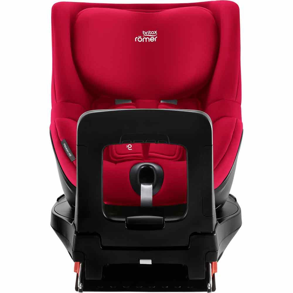 britax r mer kindersitz dualfix m i size design fire red. Black Bedroom Furniture Sets. Home Design Ideas