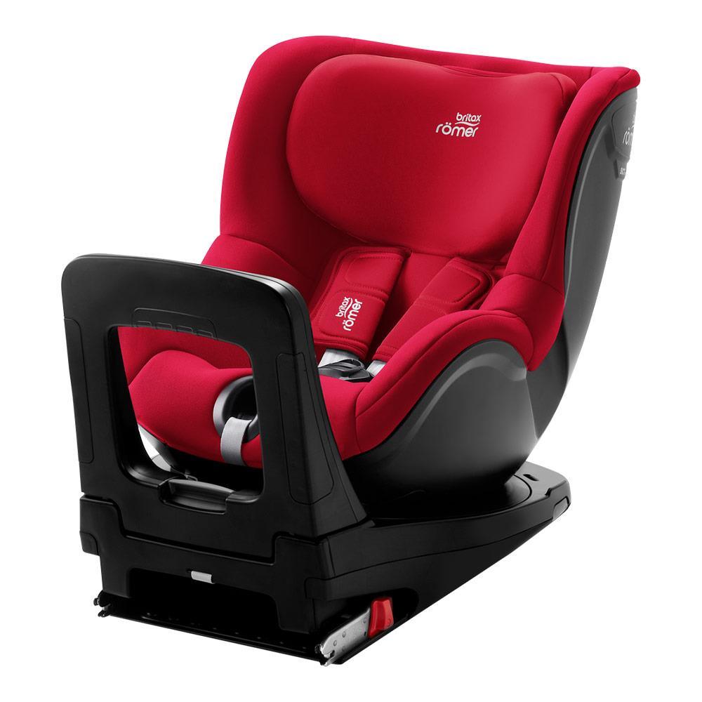 britax r mer kindersitz dualfix m i size design fire red. Black Bedroom Furniture Sets. Home Design Ideas