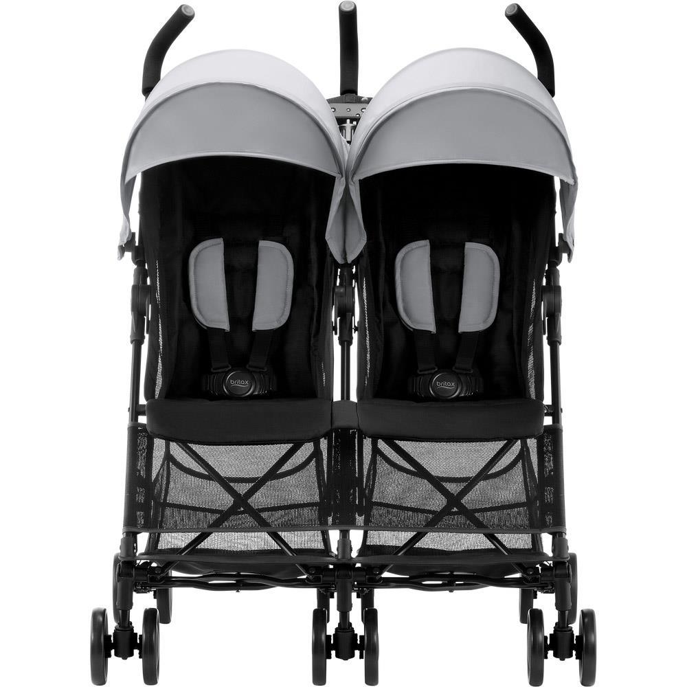 Miraculous Britax Romer Twin Buggy Holiday Double Design 2019 Steel Grey Creativecarmelina Interior Chair Design Creativecarmelinacom