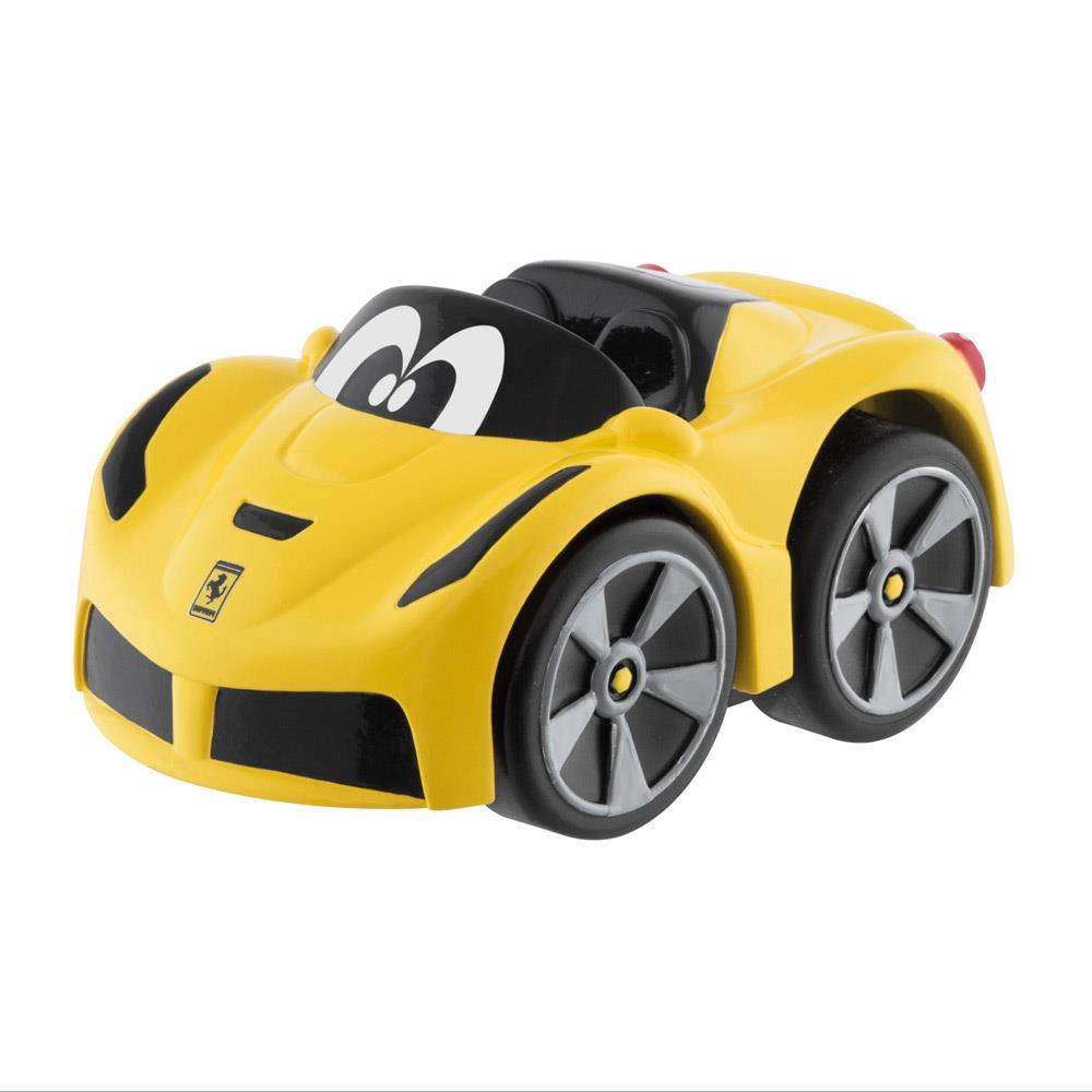 Small Plastic Turbocharger: Chicco Ferrari Mini Turbo Touch Toy Cabrio YELLOW