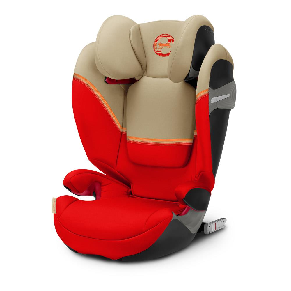Cybex Auto-Kindersitz Free-Fix Iso-Fix Pure Black ECE R44//04 Gruppe 2//3
