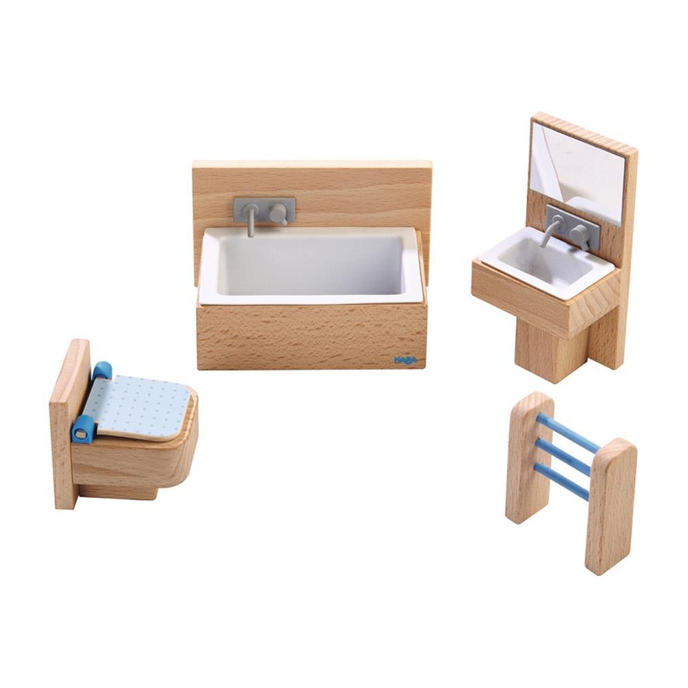 haba little friends puppenhaus m bel badezimmer. Black Bedroom Furniture Sets. Home Design Ideas