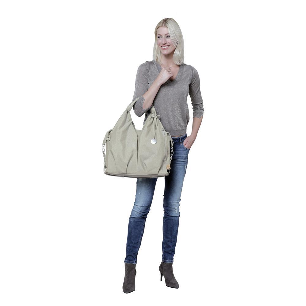 l ssig green label neckline bag wickeltasche ecoya sand. Black Bedroom Furniture Sets. Home Design Ideas