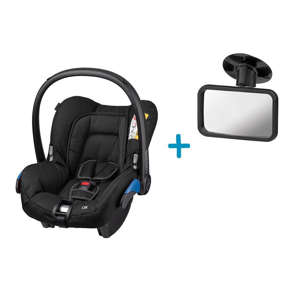 maxi cosi bundle infant carrier citi inckl free safety mirror. Black Bedroom Furniture Sets. Home Design Ideas