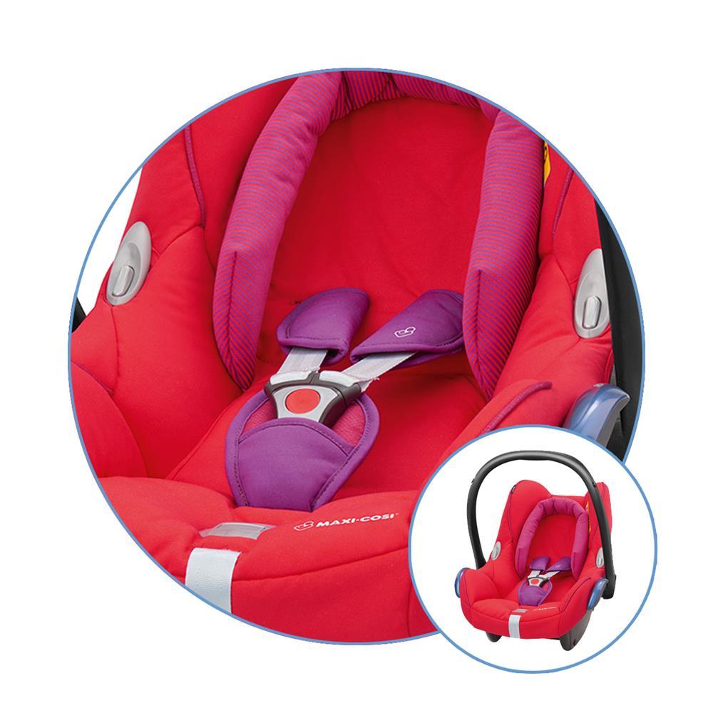 maxi cosi ersatzbezug f r babyschale cabriofix red orchid. Black Bedroom Furniture Sets. Home Design Ideas