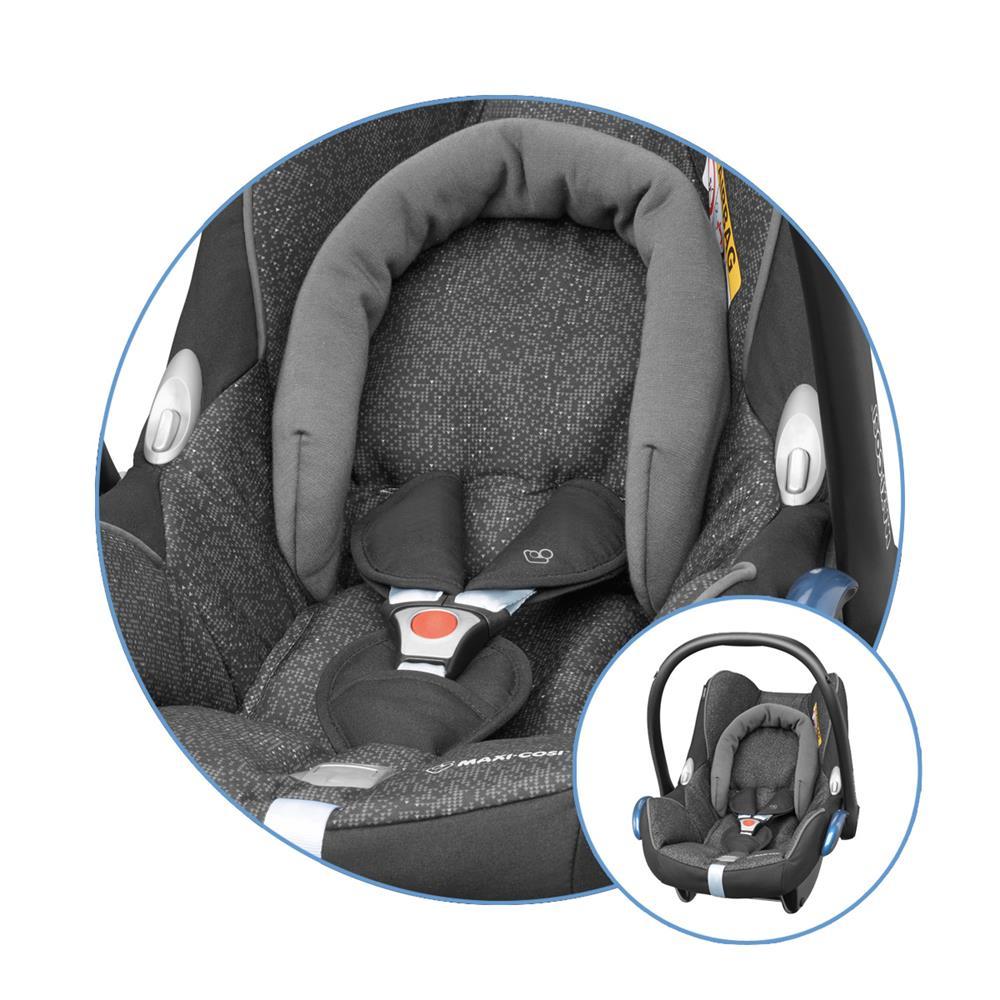 maxi cosi ersatzbezug f r babyschale cabriofix triangle black. Black Bedroom Furniture Sets. Home Design Ideas