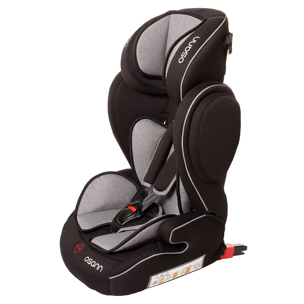 osann car child seat flux isofix grey melange. Black Bedroom Furniture Sets. Home Design Ideas