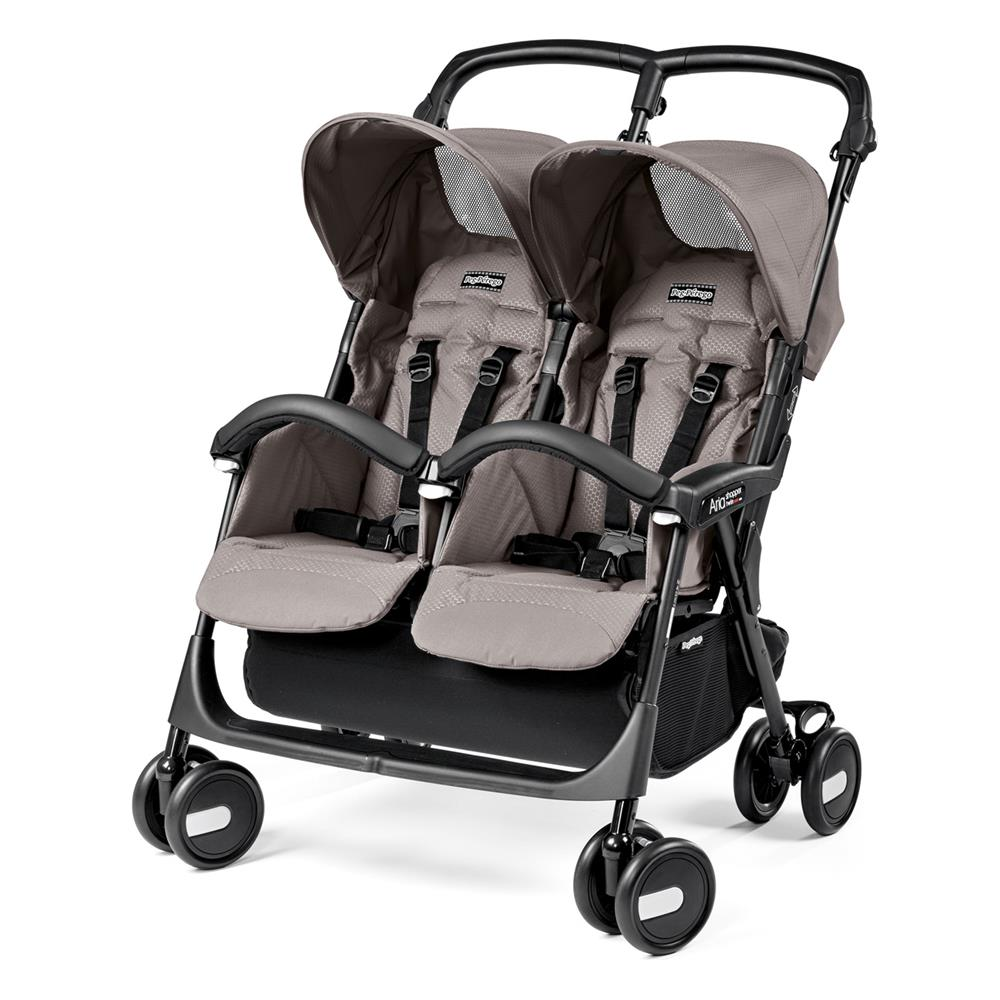 peg perego aria shopper twin buggy 2019. Black Bedroom Furniture Sets. Home Design Ideas