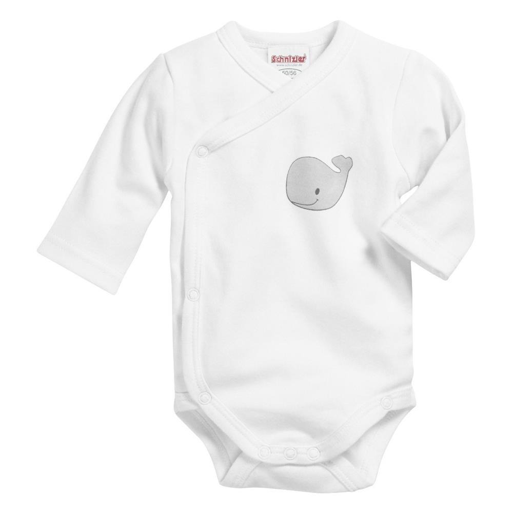 Schnizler Baby Long Sleeve Shirt Elephant