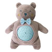 Pabobo Musical Stars Projector Plush Bear Blue