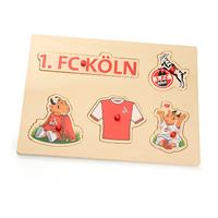 1. FC Köln Baby Holz-Puzzle