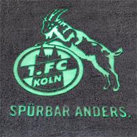 1. FC Köln Decke Flanell leuchtend